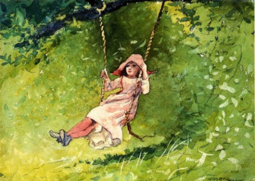 Winslow-homer-girl-on-a-swing