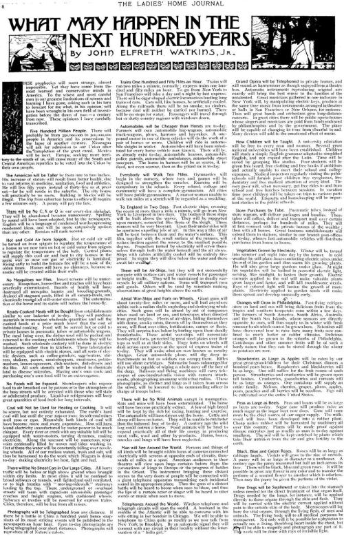 John_Elfreth_Watkins_Ladies_Home_Journal_Predictions_1900