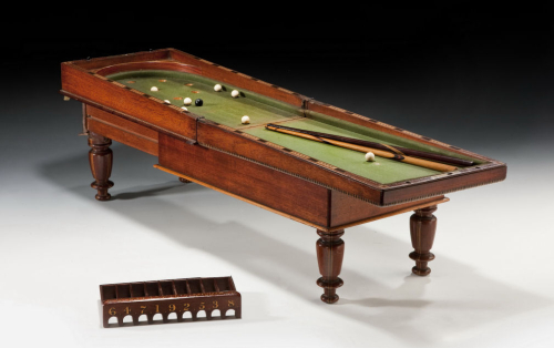 Antique-miniature-folding-bagatelle-games-table-chess-board-top-3461_1_3461