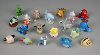 Pokémon figure set  2005. The Strong  Rochester  New York.
