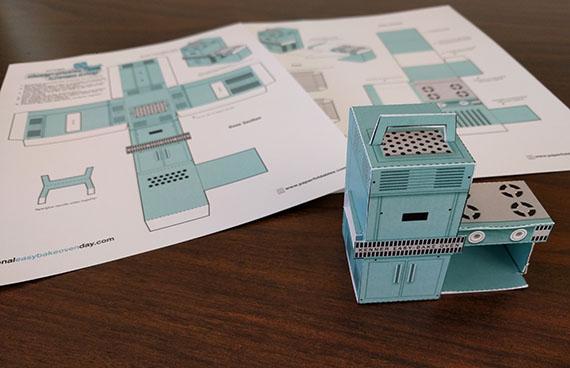 Paper Easy-Bake Oven  The Strong  Rochester  New York