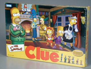 The Simpsons Clue  Hasbro Inc.  2002  The Strong  Rochester  New York.