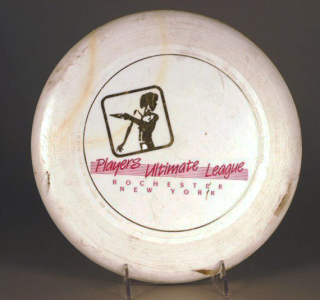 Flying disc  Discraft  Inc.  The Strong  Rochester  New York.