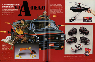 The 1984 L.J.N. Ltd catalog offered a bevy of A-Team vehicles  including B.A.'s signature GMC van. The Strong  Rochester  New York