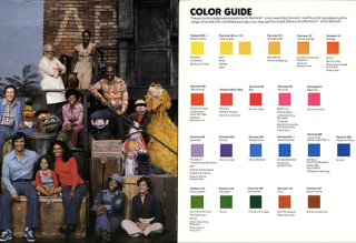 "Pages from Sesame Street style guide  ""Character Book featuring Jim Henson's Muppets "" 1979. From the Bonnie Erickson papers  1971-2005. The Strong  Rochester  New York."