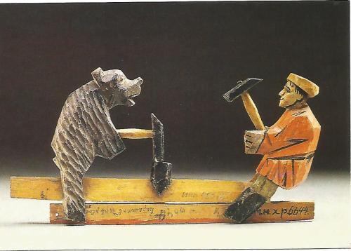 Man and bear