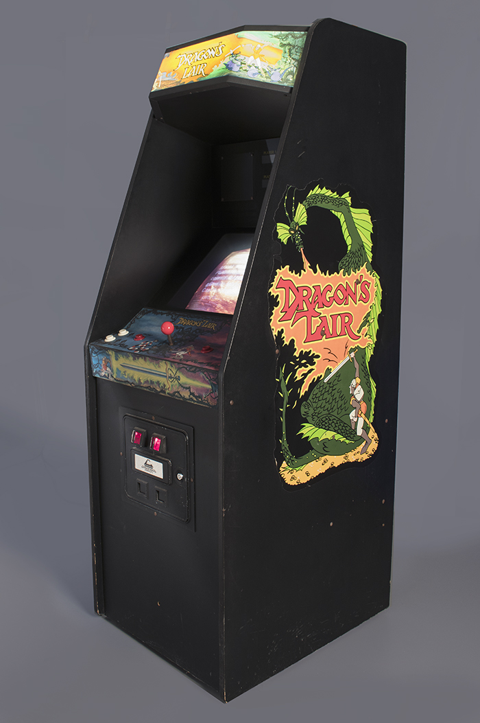 Dragon's Lair arcade game  1983  The Strong  Rochester  New York