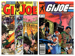 DC Comics  Showcase  November-December 1964 and  Marvel Comics  GI Joe A Real American Hero  August 1987. The Strong  Rochester  New York  USA.