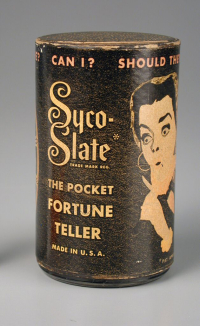Syco Slate The Pocket Fortune Teller  Alabe Crafts Inc.  about 1948. The Strong  Rochester  New York