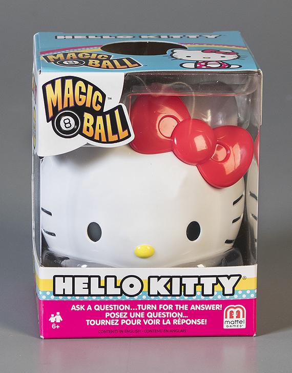 Magic 8 Ball  Hello Kitty  Mattel  Inc.  2017 The Strong  Rochester  New York