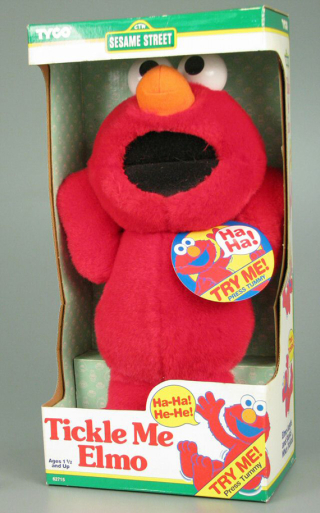 Tickle Me Elmo  1996  The Strong  Rochester  New York.