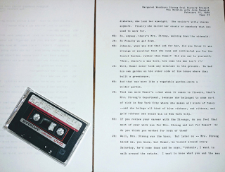 Oral history transcript and audiocassette of interview with John Nazmick  February 16  1989. Margaret Woodbury Strong collection  1818-2002. The Strong  Rochester  New York.