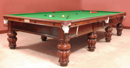 A-full-size-solid-mahogany-billiard-snooker-table-circa-1890