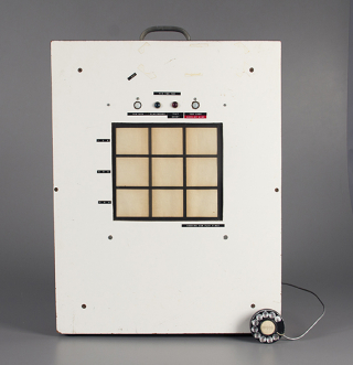 Tic-Tac-Toe Machine  electromechanical game  1963 The Strong  Rochester  New York.