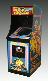 Ms. Pac-Man arcade game  1981 The Strong  Rochester  New York.