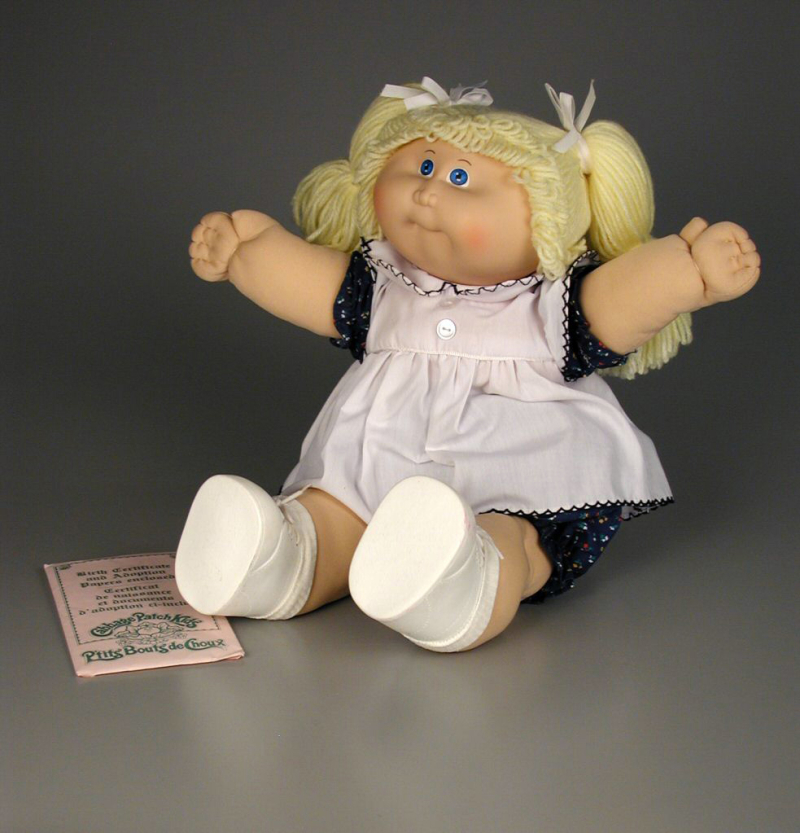 Cabbage Patch Kids doll  1983  The Strong  Rochester  New York.