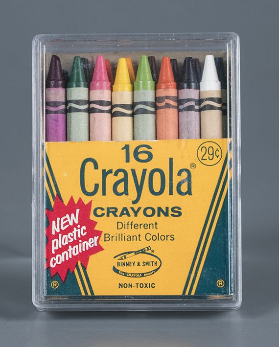 16 Crayola Crayons Binney and Smith  about 1968  The Strong  Rochester  New York