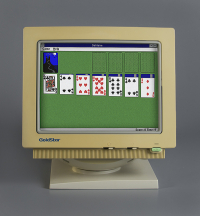 Microsoft Windows Solitaire  The Strong  Rochester  New York.