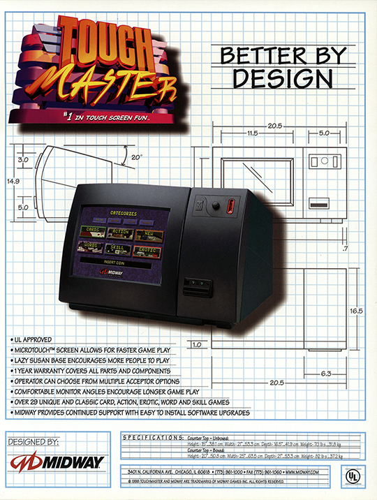 TouchMaster Flyer  The Strong  Rochester  New York.