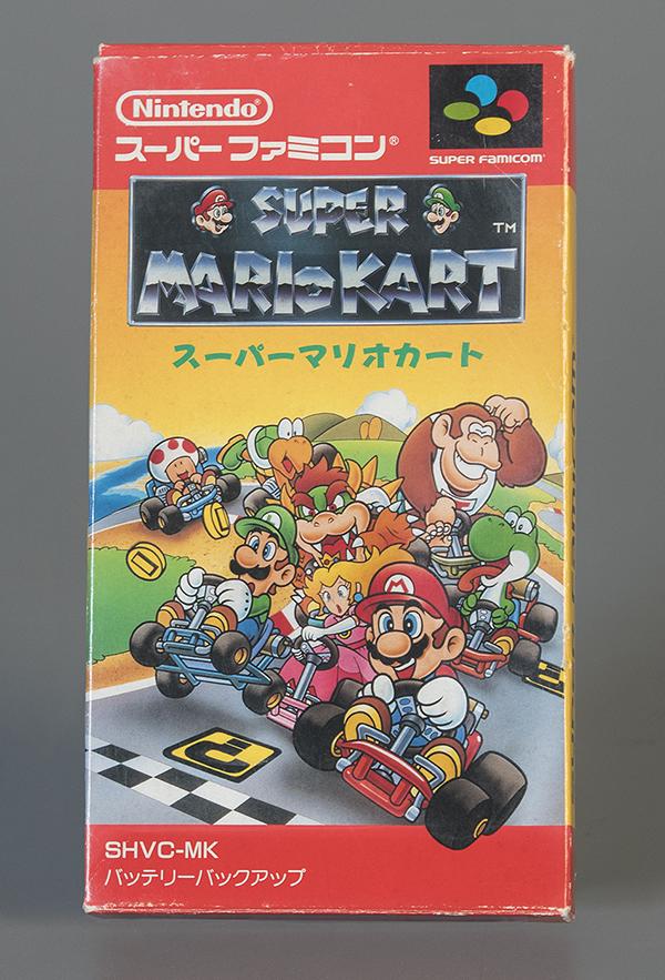 Super Famicom Super Mario Kart  Japanese Edition  Nintendo  1992. The Strong  Rochester  New York.