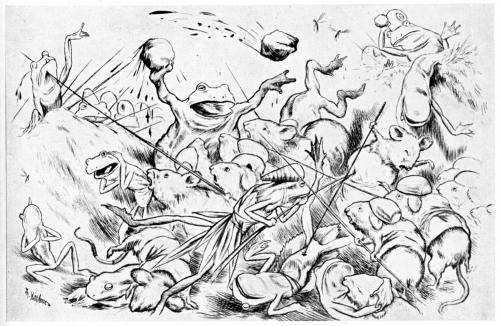Krigen_mellom_froskene_musene_-_War_between_the_frogs_and_mice_-_10_-_1885