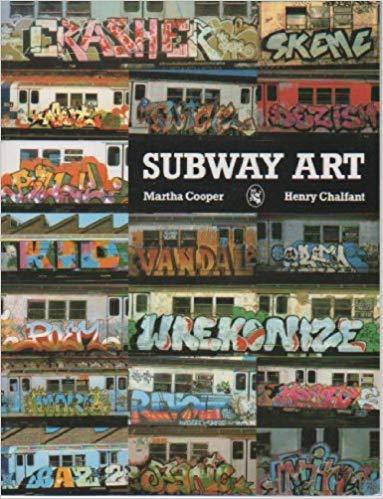 Subway Art. Photo courtesy of Amazon thorugh Creative Commons License Attribution.