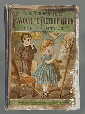 The Young Artists Favorite Picture Book for Painting  about 1850. The Strong  Rochester  New York.