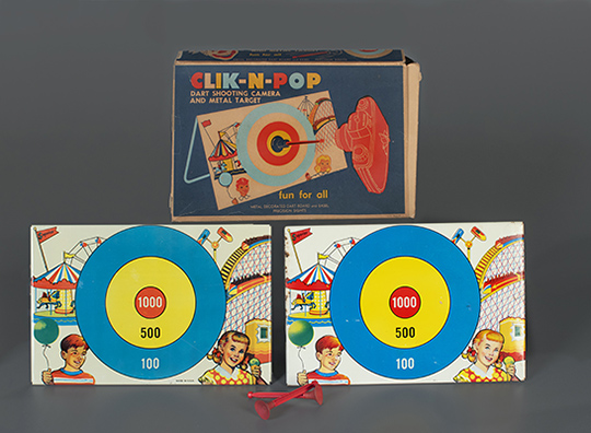 Clik-n-Pop  Superior Toy Co.  1930–1950  The Strong  Rochester  New York.