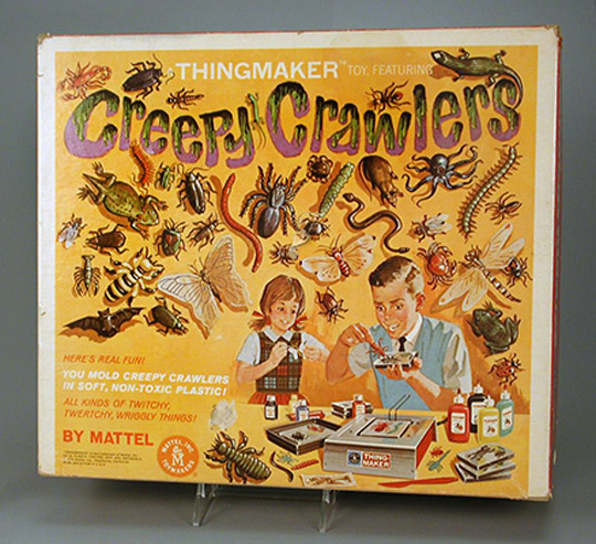 Creepy Crawlers Thingmaker  1964. Gift of Matt Barker and Linda Wisdom  The Strong  Rochester  New York.