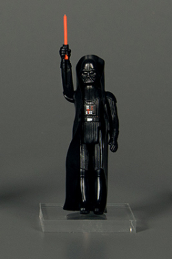 Darth Vader action figure  1978. The Strong  Rochester  New York